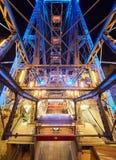 VIENNA, AUSTRIA - SEPTEMBER 8, 2017. Prater - giant old ferris wheel in Vienna, Austria. Prater - giant old ferris wheel in Vienna, Austria Stock Photo