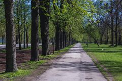 Prater park in Vienna Royalty Free Stock Images