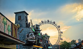 Prater park, Vienna stock photography