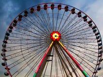Prater - roda da balsa, Viena imagens de stock royalty free
