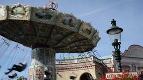 The Prater in Vienna - Austria stock video