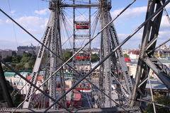 Prater wheel Stock Photography