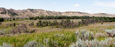 Prateria del Dakota del Nord Fotografie Stock