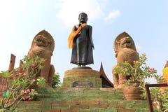 Prathammamikkarat in Ayudhaya, Thailand. Prathammamikkarat, An Ancient Buddha at a Temple in Ayudhaya, Thailand Stock Photos