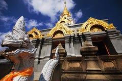 Prathat Doi-Mae-Mae-Sa-långa Srinakarin Fotografering för Bildbyråer
