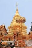 Prathat Doi Suthep, Chiangmai, Thailand. Prathat Doi Suthep, a famous tourist destination in Chiangmai, Thailand Royalty Free Stock Photography