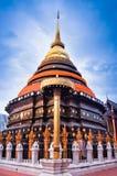 Prathat lampang luang , Lampang. Travel  to prathat lampang luang temple at Lampang Thailand Royalty Free Stock Photo