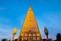 Prathat nhong bua, Ubonratchathani, Tajlandia Zdjęcia Royalty Free