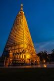 Prathat nhong bua, Ubonratchathani, Tajlandia Fotografia Stock