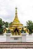 Prathat Sanhai Pagoda in Wianghaeng, Chiangmai Thailand Stock Photography
