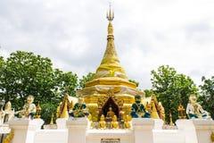 Prathat Sanhai Pagoda in Wianghaeng, Chiangmai Thailand Stock Photo