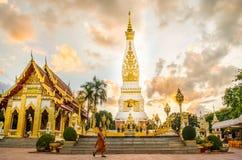 Prathatphanom tempel Royaltyfri Bild