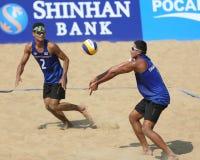 Prathip SUKTO (L) e Sittichai SANGKHACHOT (R) Fotos de Stock