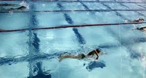 Pratica 3 di nuotata Immagini Stock Libere da Diritti