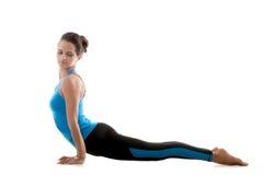 Pratica della ragazza di yoga Fotografia Stock Libera da Diritti
