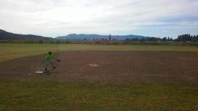 Pratica di baseball Fotografie Stock Libere da Diritti