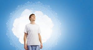 Praticar da ioga Imagem de Stock