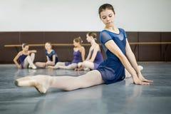 Praticar dos dançarinos Fotos de Stock Royalty Free