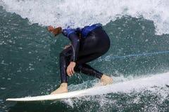 Praticare il surfing 002 Fotografia Stock Libera da Diritti