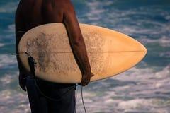 Praticare il surfing andato Fotografia Stock Libera da Diritti