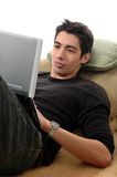Praticare il surfing di Web Immagini Stock