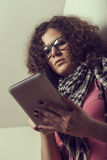 Praticare il surfing il Internet Fotografie Stock Libere da Diritti