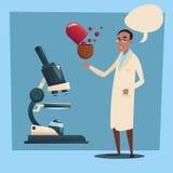 Praticien d'homme de médecin African American Race illustration de vecteur