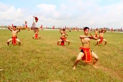 Praticiens d'arts martiaux par Photo stock