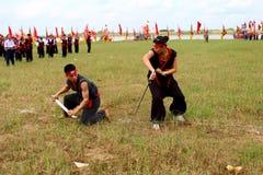 : praticiens d'arts martiaux par Photographie stock libre de droits