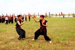 Praticiens d'arts martiaux par Photos libres de droits