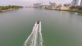 Pratique en matière aérienne de canoë de sprint banque de vidéos