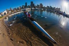 Pratique en matière de l'eau de Fours de Regatta d'aviron Image stock