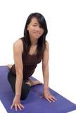 Pratique en matière de yoga Photo libre de droits