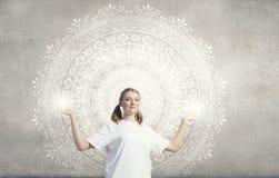 Pratique en matière de yoga Image stock