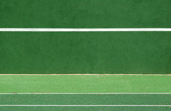 Pratique en matière de tennis Photo libre de droits