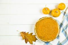 Prato americano tradicional para o dia da ação de graças no tempo do outono Imagens de Stock Royalty Free