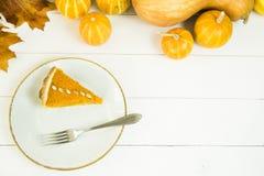 Prato americano tradicional para o dia da ação de graças no tempo do outono Fotos de Stock