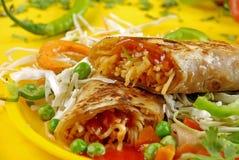 Prato asiático do macarronete Imagem de Stock
