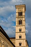 Prato bell tower Royalty Free Stock Image