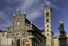 Prato Cathedral and bell tower Royalty Free Stock Photo