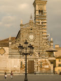 Prato cathedral front view Royalty Free Stock Image