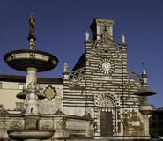 Prato Cathedral sight Royalty Free Stock Photo