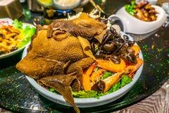 Prato chinês de Stomache da carne fotografia de stock royalty free