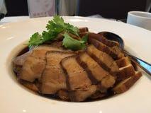 Prato da barriga de carne de porco imagens de stock