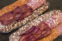 Prato da carne Foto de Stock Royalty Free
