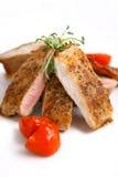 Prato da carne de porco Imagens de Stock
