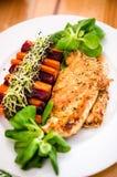 Prato da carne de Turquia Fotos de Stock Royalty Free