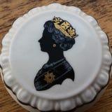 Prato da porcelana da rainha Fotos de Stock