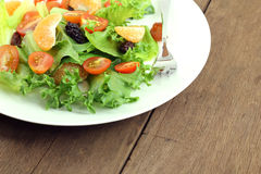 Prato da salada fresca Imagens de Stock Royalty Free