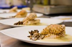 Prato de galinha Foto de Stock